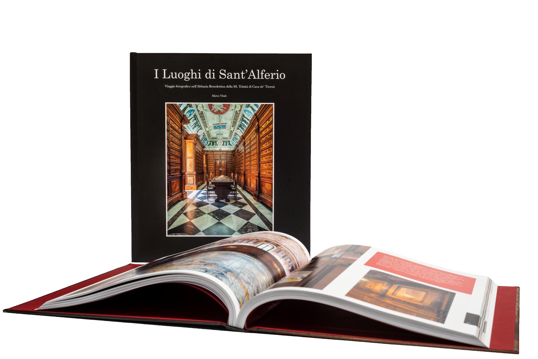 Libro fotografico sugli ambienti dell'Abbazia Benedettina