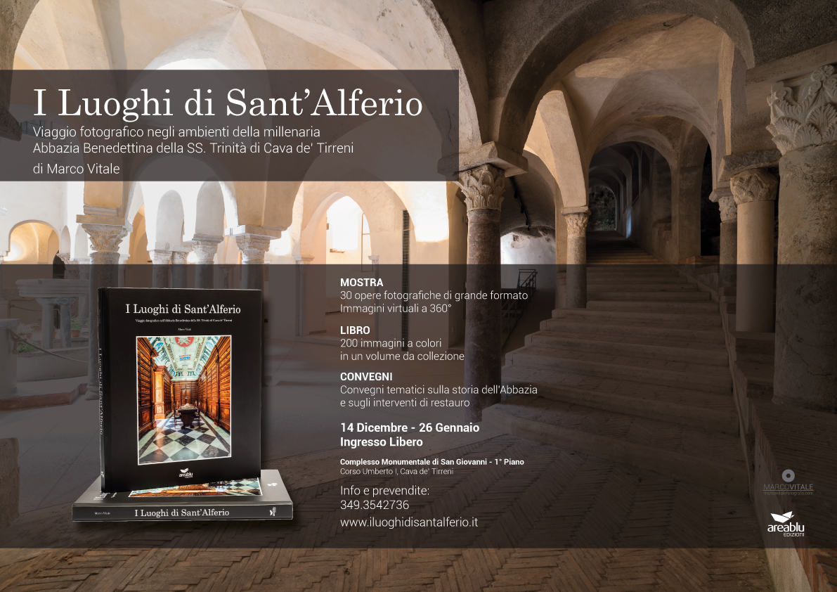 Fotografo Cava Dei Tirreni i luoghi di sant'alferio - mostra - libro - convegni -