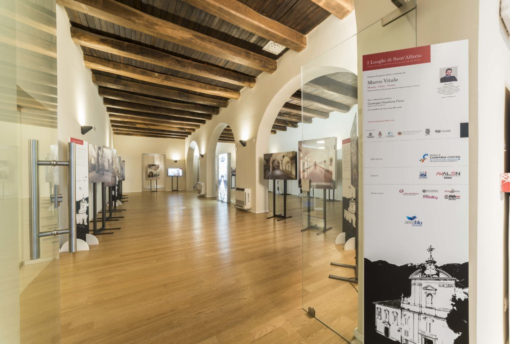 Mostra dedicata agli ambienti della Badia di Cava